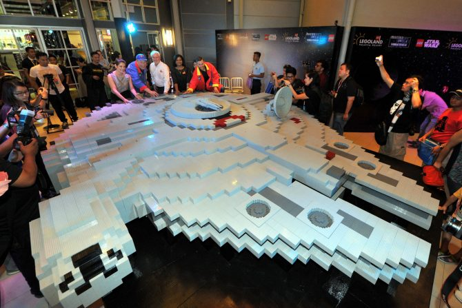 The Millennium Falcon is now ready to take flight