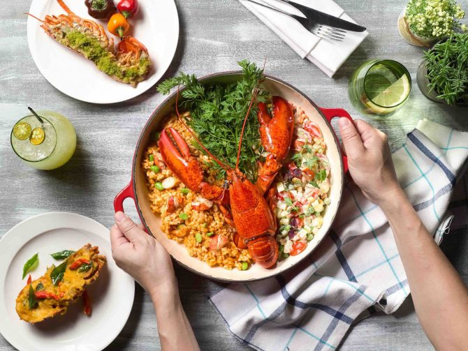 PARKROYAL on Pickering_Lobsterfest at Lime_Chef serving Lobster Risotto-2