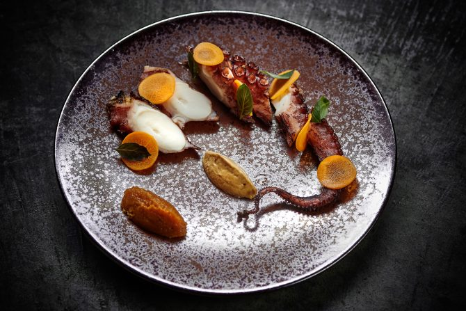 Charcoal_Grilled_Octopus_Spicy_Peanut_Apple