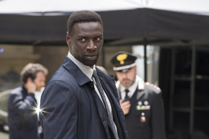"""Omar Sy in Columbia Pictures' """"Inferno,"""" starring Tom Hanks and Felicity Jones."""