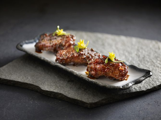 baked-pork-belly-ribs-with-honey-pepper-sauce
