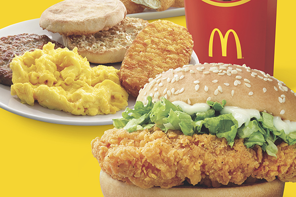 Mcdonald's Is Giving Customers 1-For-1 Daily Deals over the Next 40 Days!
